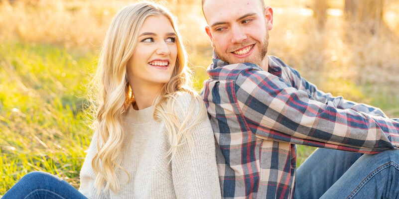 Kade + Erica | Idaho Engagement Session in the Fall