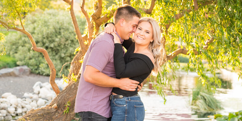 Cole + Ruby | A Surprise Proposal | Red Barn Farms in Colton WA